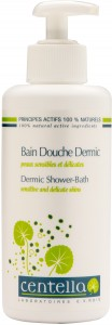 Bain douche dermic - Flacon pompe 200 ml